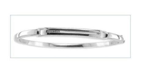 Bentelli Sterling Silver and Diamond Bangle