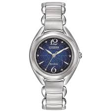 Lady's Blue Stainless Steel Eco Wr050 Watch