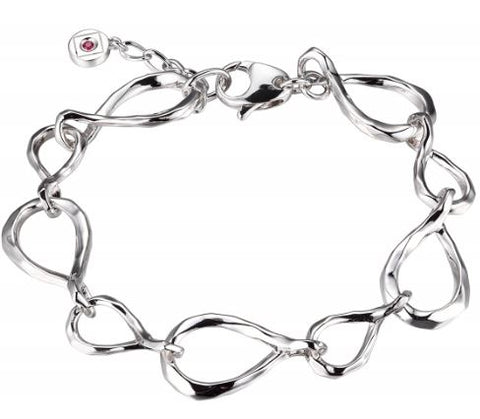 ELLE Sterling Silver Fashion Bracelet