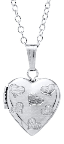 Kiddie Kraft Sterling Silver Heart Locket