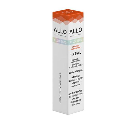 ALLO 1500 - Grapefruit - 20mg/mL (NEW!)
