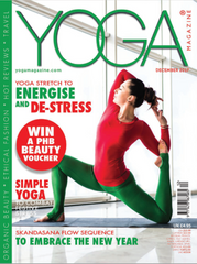 Yoga Magazine Cover Dec17