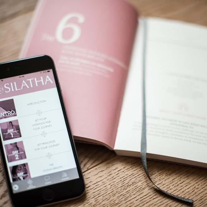 Journal + Silatha Meditation Journey (App)