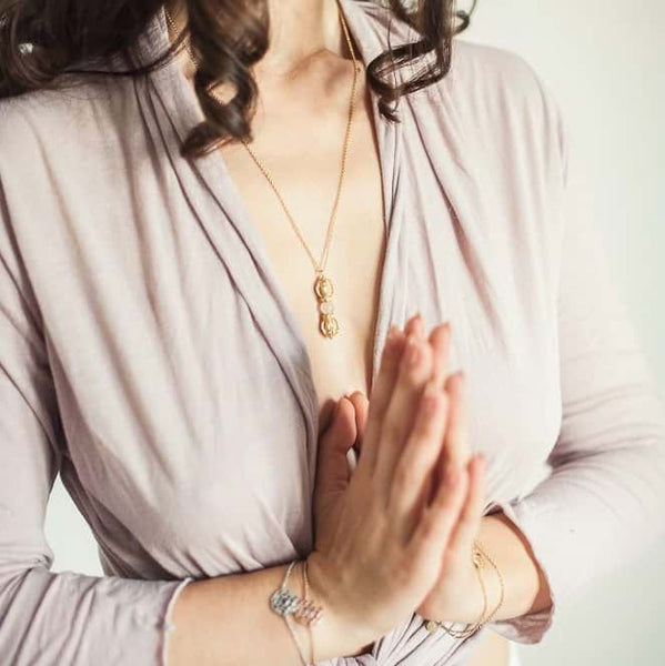 Love & Compassion Necklace + Silatha Meditation Journey (App)