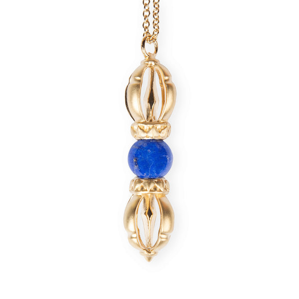 The Silatha Lapis Lazuli Dorje to grow trust, relief, truthfulness and inner-power. Paired with a meditation course.