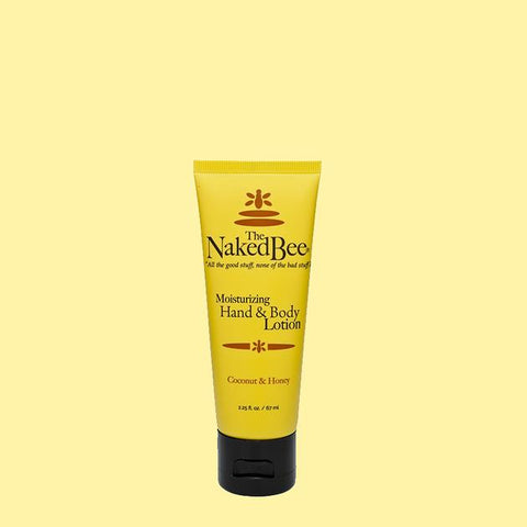The Naked Bee Coconut & Honey Hand & Body Lotion 2.25 oz.