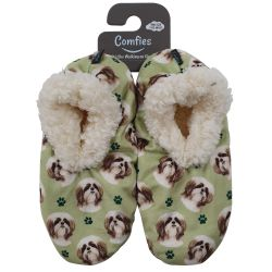 Comfies Slippers Tan Shih Tzu