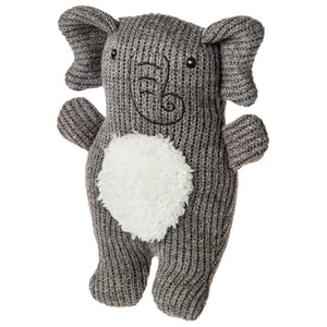 Mary Meyer Knitted Elephant Nursery Rattle