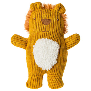 Mary Meyer Knitted Nursery Lion Rattle