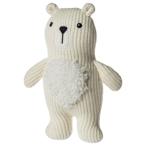 Mary Meyer Knitted Nursery Bear Rattle