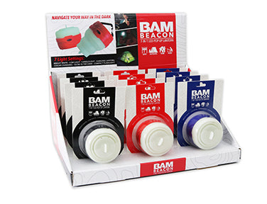 BAM Beacon 7-in-1 LED Pop-Up Lantern