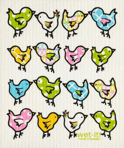 Little Spring Chix Wet-It Kitchen Cloth