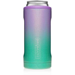 BRUMATE 12 Oz. Glitter Mermaid Hopsulator Slim