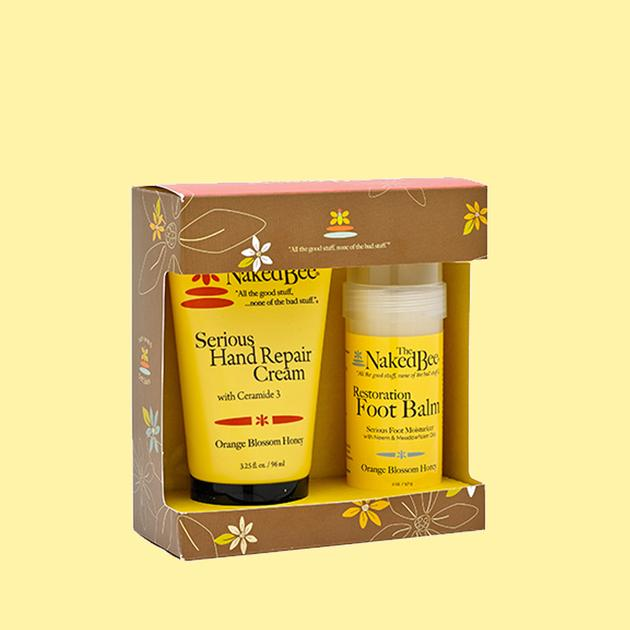 The Naked Bee Orange Blossom & Honey Hand & Foot Kit