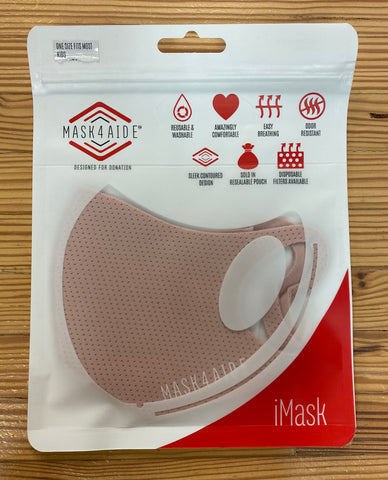 Mask4Aide Pink Face Mask