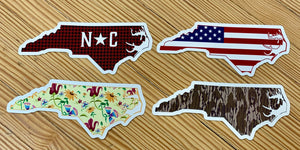 North Carolina Decal Stickers