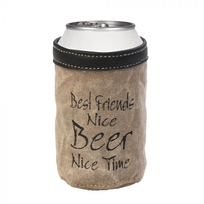 Best Friends Nice Beer Nice Time Koozie