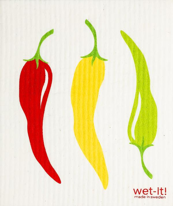 Peppers Swedish Wet-It Kitchen Cloth