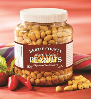 Bertie County Red Hot Hexlena Peanuts