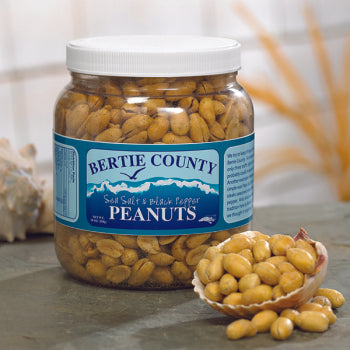 Bertie County Sea Salt & Black Pepper Peanuts