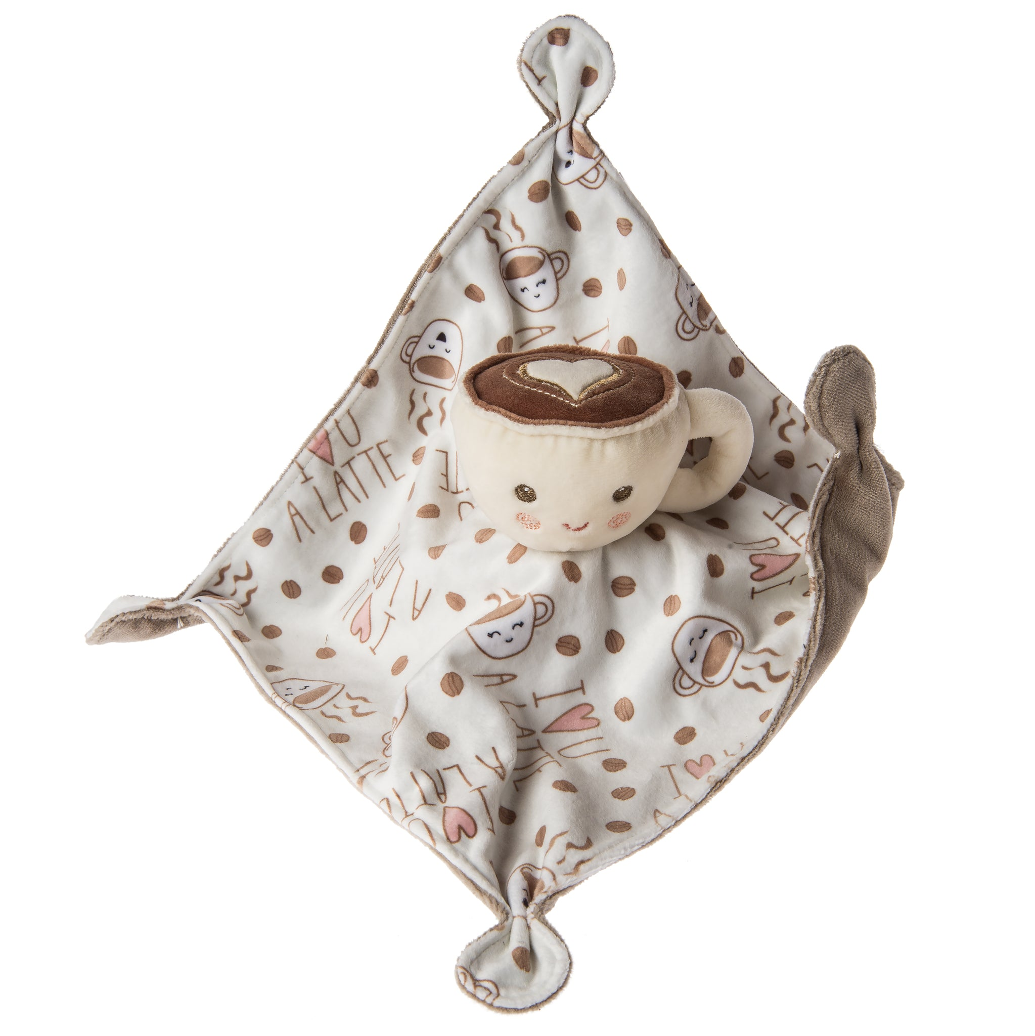 Soothie Plush Sweet Latte Coffee Cup Blanket by Mary Meyer