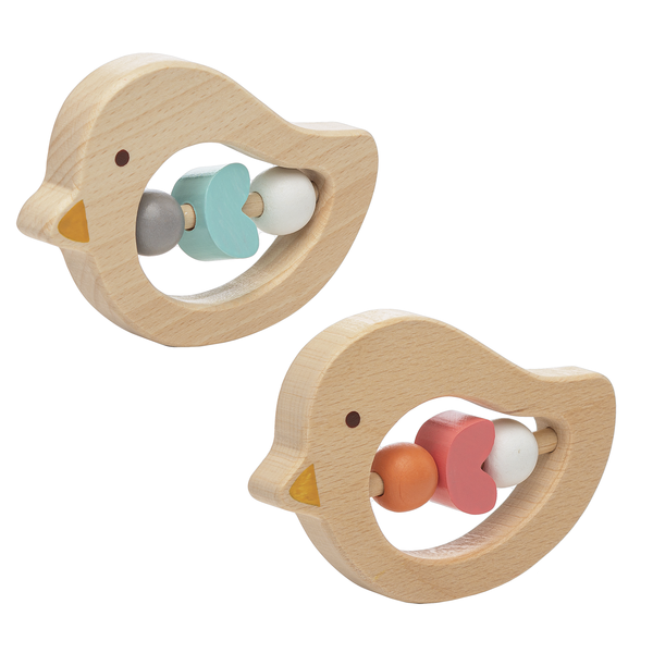 Wooden Bird Activity Toy