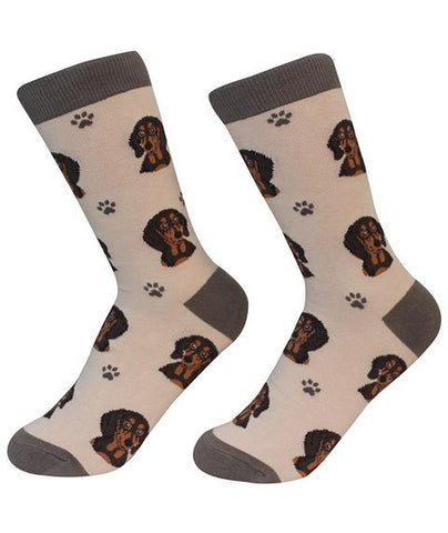 Sock Daddy Black Dachshund Socks