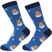 Sock Daddy Sheltie Socks