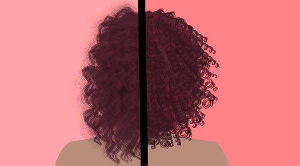 How to Transition From Damaged Hair to Natural Curly Hair