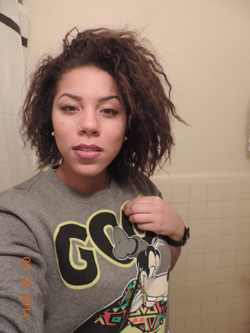 Natty from CurlShoppe - Transitioning Hair - Pre Big Chop