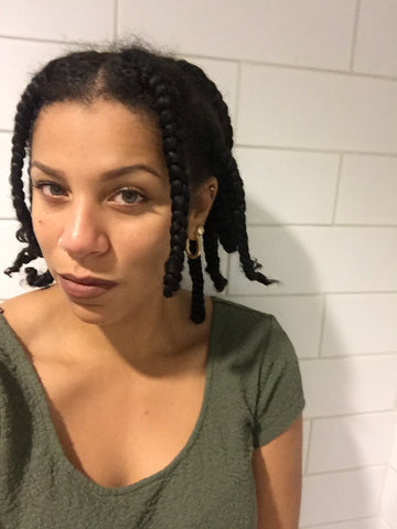 Single Braids with Nat from CurlShoppe