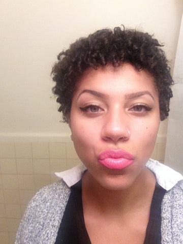 Natty from CurlShoppe - TWA - Big Chop