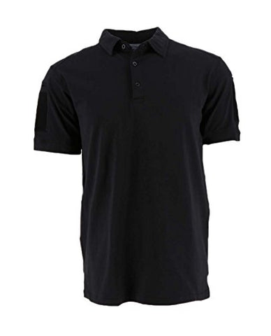 Cannae Operator Polo S/S Black LG Self