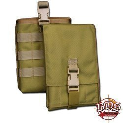 BDS Tactical Map Case w/Modular Pouch
