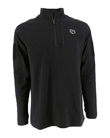 Mission Critical Designs, Cannae Pro Gear Rig Fleece Tactical Pullover, Color Black, Size XL
