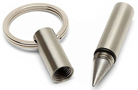 "Jac Zagoory Beta Inkless ""Go To Pen"" Key Ring"