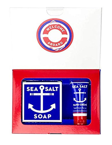 Swedish Dream Sea Salt Soap & Hand Creme Gift Box 2 pcs