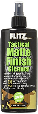 Flitz tactical matte finish cleaner self