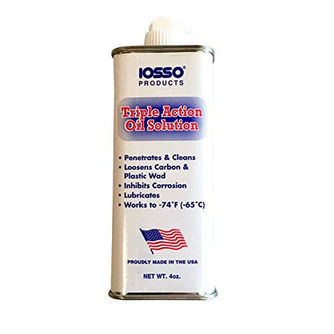 Iosso 10940 Triple Action Oil Solution - 4 oz.