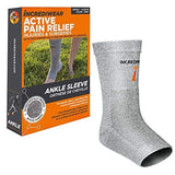 Incrediwear Ankle Sleeve Grey XL