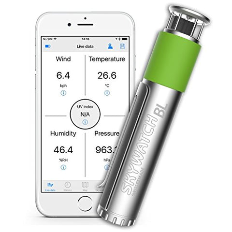 Skywatch BL400 Bluetooth Weather Station for Smartphone