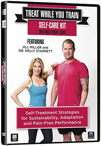 Tune Up Fitness Treat While You Train 2 DVD Set with Jill Miller and Kelly Starrett, Self-Massage to Improve Mobility, Increase Athletic Performance, Myofascial Release, Trigger Point Therapy
