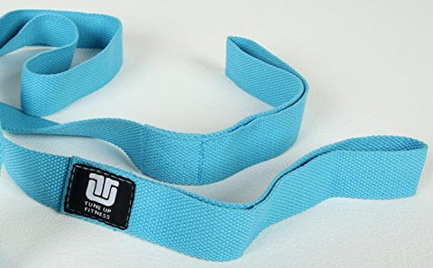 Tune Up Fitness Stretch Strap, Great for Flexibility, Increased Mobility, Range of Motion, Injury Prevention and a must for Runners, Cyclists, Yogi's and Athletes