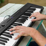 Artesia A-61 | 61-Key Beginner Digital Piano/Keyboard w/ 8 Dynamic Voices, USB MIDI, Power Supply, Sustain Pedal AND Two Months of TakeLessons Online Lessons and Melodics Lessons