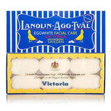 Victoria Swedish Lanolin Eggwhite Facial Soap 6 x 50 g