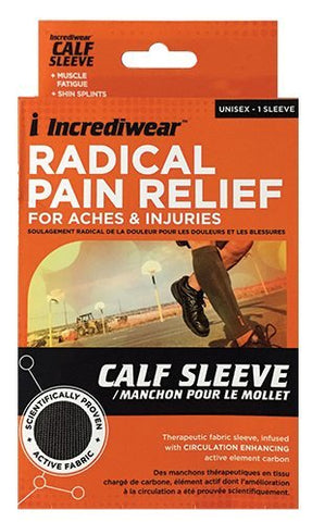Incrediwear Arm/Calf Sleeve, Grey, Medium