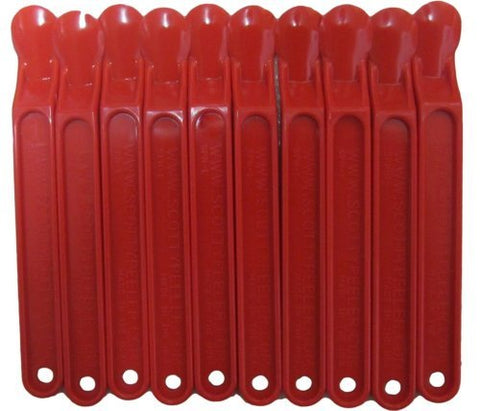 Scotty Peeler - The Original Label & Sticker Remover (Set of 10 Red)