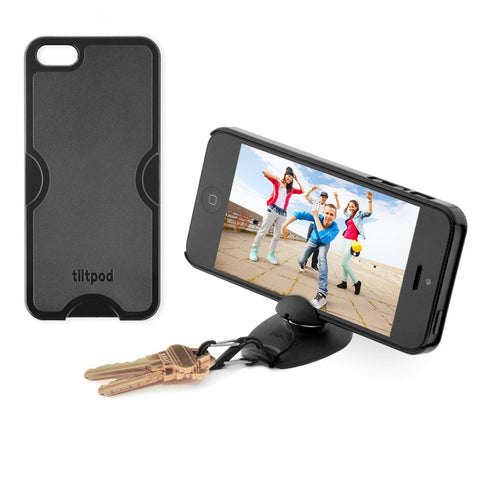 Tiltpod case and stand - iPhone 5 Black
