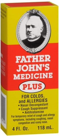 Father John's Medicine Plus 4 oz (Pack of 2)