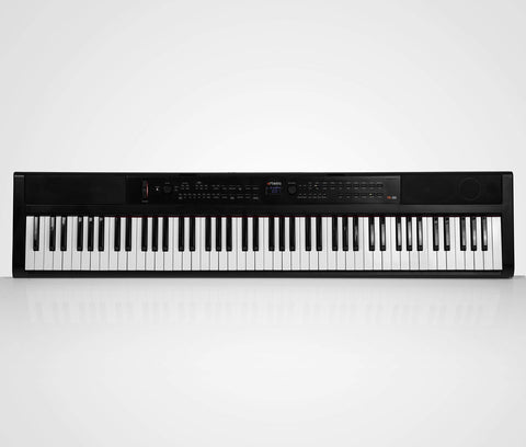Artesia PE-88 | 88 Key Digital Piano with Semi Weighted Action & Built In Speakers + 130 Premium 3D/3 Layer Voices & 100 Rhythms Fully Orchestrated + Power Supply + Sustain Pedal + Teaching Software